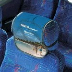 Full Color Bus Head Rest Cover