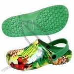 Full Color Print Women's Clogs