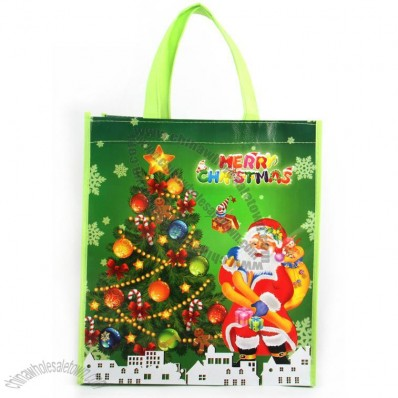 Full Colors Printed Christmas Gift Bag