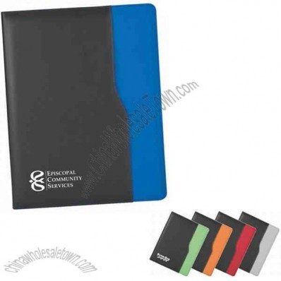 Full Sized Portfolio Folder With Leatherette Cover