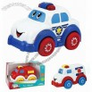 Fun Freewheel Plastic Ambulance Car Toy