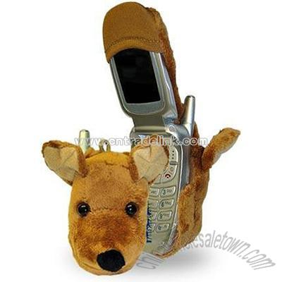 Product Name: Fun Friends Buster Flip Dog Plush Animal Cell Phone Cover Item