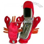 Fun Friends Larry the Lobster Plush Animal Flip Cell Phone Cover