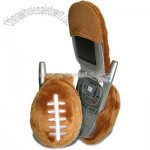 Fun Friends Plush Animal Flip Cell Phone Cover-Football