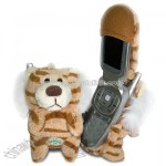 Fun Friends Ty Lion Plush Animal Flip Cell Phone Cover