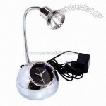 Funny Table Clock with Lamp and Adaptor
