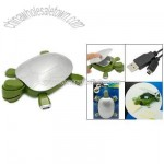 Funny Turtle 4 Ports USB HUB Ashtray Stiletto For PC Laptop