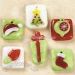 Fused Glass Christmas Charm Mix