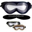 G.I. type sun wind and dust goggles