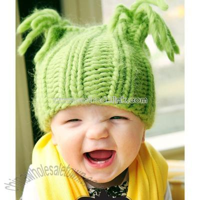 Wholesale Crochet Baby Hats on Apple Baby Hat Knitting Pattern  Wholesale China Green Apple Baby Hat