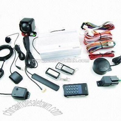 GSM Alarm System/GPS Vehicle Tracking System