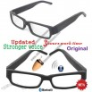 GSM bluetooth glasses with invisible wireless earpieces W205+G