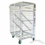 Galvanized Roll Container, Easy for Storage