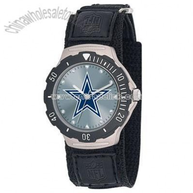 Game Time Dallas Cowboys Watch - Agent Velcro
