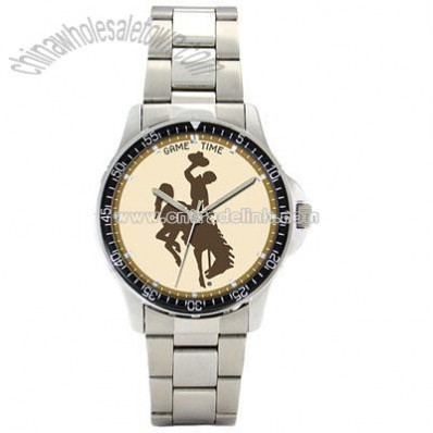Gametime Wyoming Cowboys Men's Coaches Series Watch