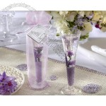 Garden Glass Gel Candle - Lavender