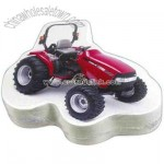 Garden tractor shaped compressed t-shirt