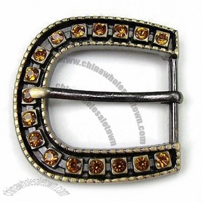 Garment Accessory with Gold, Nickel, Gunmetal, Silver and Antique Bronze Plating