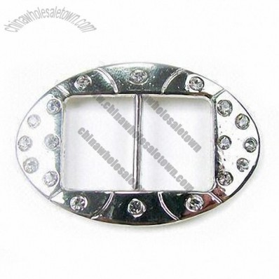 Garment Buckle, Made of Metal Alloy