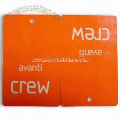Garment Laminated Hang Tag