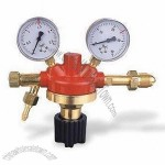 Gas Regulator with 300bar Maximum Inlet Pressure