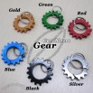 Gear Carabiner, Sprocket Carabiner with Ring