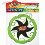 Gear Shaped PU Foam 10 inch Frisbee