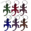 Gecko/Lizard Shaped Bottle Opener Key Ring Chain
