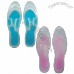 Gel slipper insole, non-toxic and -caustic