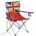 Gelert Festival Flag Folding Camping Chair