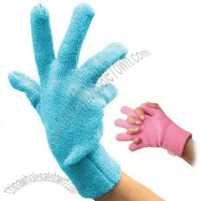 Geluscious Gel Terry Gloves - Turquoise