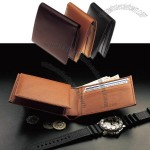 Genuine Calfskin Makes a Supple, Slim Billfold Wallet