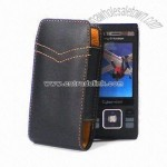 Genuine Leather Case Pouch for SE W995