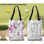 Geometry Design Color Changing Bag