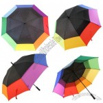Giant Rainbow Golf Umbrella
