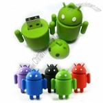 Gift Android USB Flash Drive, Ruber Robot USB Memory Stick