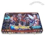 Gift Tin Board Game Box with Offset Printing
