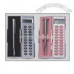 Gift box Calculator and pen