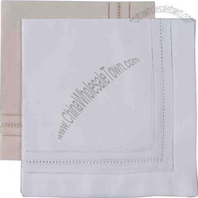 Gilucci And Hemstitch Linen Napkin