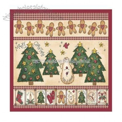 Gingerbread House Shower Curtain