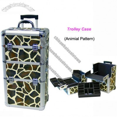 Rolling Makeup Case on Makeup Case Suppliers  China Giraffe Rolling Aluminum Makeup Case