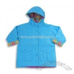 Girl Raincoat, Aqua