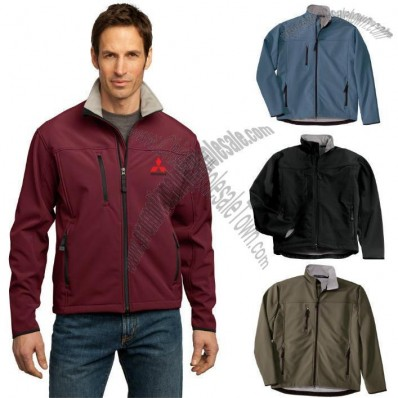 Glacier Soft Shell Embroidered Jacket