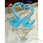 Glass Animal Figurine - Swan