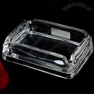 Glass Ashtray for Home and Hotel Use