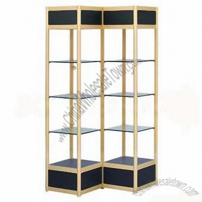Glass Display Cabinet L300xW300xH1600mm