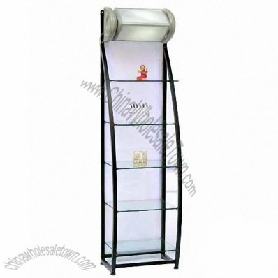 Glass Display Rack 50*35*186cm