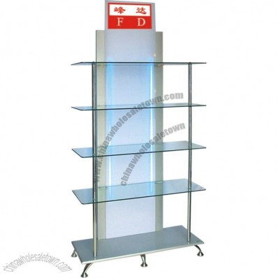 Glass Display Stand  90*35*195 cm