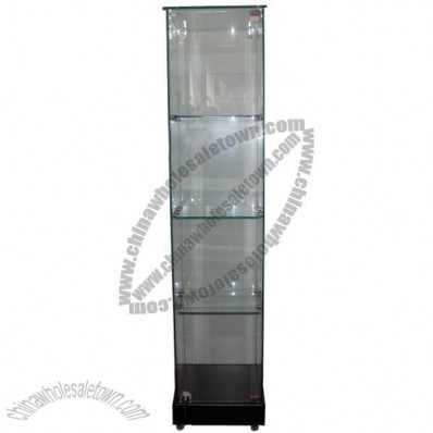 Glass Tower Showcases 45W*45D*180H