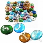Glass Wish Stones, Ideal for Fish Aquarium Decoration